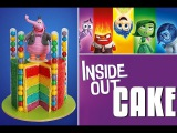 INSIDE OUT Cake Disney Inside Out Rainbow Cake My Cupcake Addiction