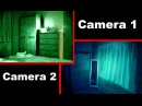 Poltergeist Activity Caught on Tape by 2 Cameras.