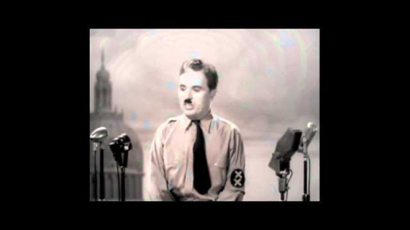 [Best Version] The Great Dictator Speech - Charlie Chaplin Time - Hans Zimmer (INCEPTION Theme)