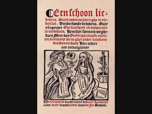 'Hout al aen, laet ons vrolic springen' (nr. 188, Antwerps Liedboek, 1544)
