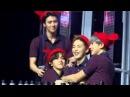 [160124 EXO'luXion in Manila] Xiumin, Baekhyun, Chanyeol and Sehun cute moment