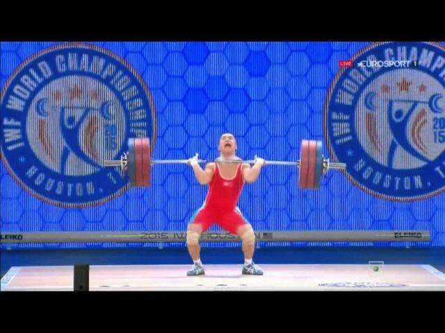 2015 11 21 Ом Юн Чхоль толчок 171 кг