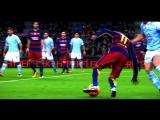 Финты Неймара / Neymar Dancing Feet - Neymagic Skills Show [Barcelona 2015⁄2016 HD]