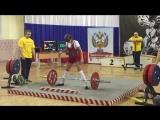 Сафронова Дарья, тяга становая 77,5 кг