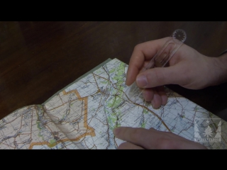 Работа с топографической картой (часть 1 из 5)