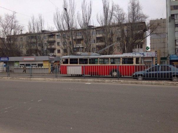 В Луганске на линию вышли новые, современные троллейбусы