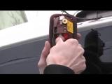Замена лампочки стоп сигнала Fiat Doblo