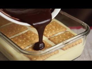 ТОРТ БЕЗ ВЫПЕЧКИ за 2 часа! Рецепт десерта из печенья