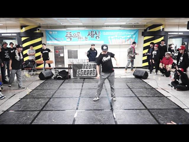 Starterz battle judge showcase Popbong