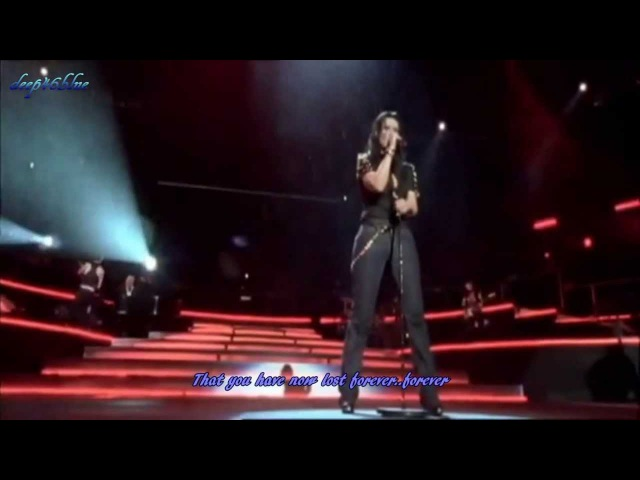 LAURA PAUSINI-Resta in ascolto-Live in San Siro 2007-(English subs)HD