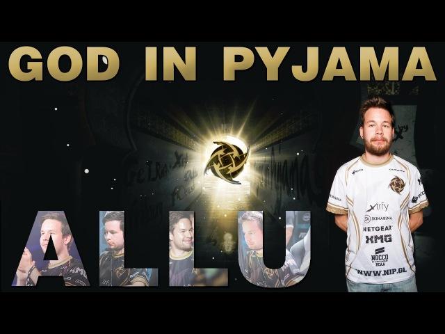 CSGO | ALLU - GOD IN PYJAMA FRAGMOVIE (allu highlights)