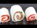 ЗАВТРАК ЗА 5 МИНУТ cэндвич ролл с сыром суши сэндвич Простой и быстрый рецепт сэндвича LudaEasyCook
