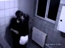 вместо секса девушка жестоко избила  парня в сортире скрытая камера