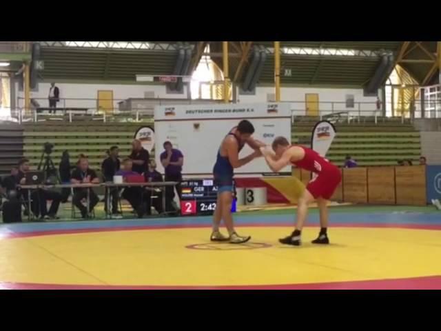 Almaniya Qran Pri turniri / Wolfer Manuel (GER) - Hacı Əliyev / yarımfinal