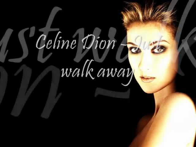 Céline Dion - Just Walk Away (Lyric Video)