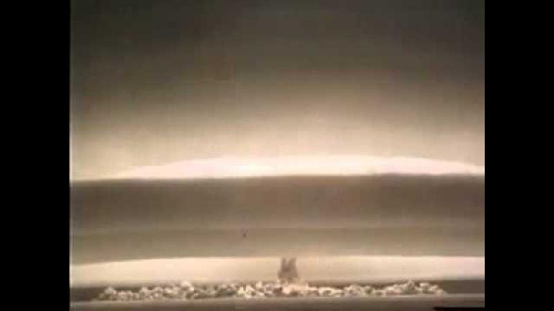 Испытание термоядерной бомбы РДС 37 Семипалатинск| History Porn