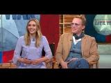 Злизабет Олсен и Пол Беттани на шоу 'GMA'