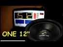ONE 12 Sub 151 2db Ground Zero GZRW 30XSPL