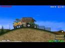 трактор везет прицеп с сеном мультик про трактор