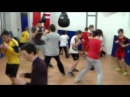 Школа бокса и кикбоксинга Андрея Рябченка (зеркальные передвижения)