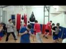 Школа бокса и кикбоксинга Андрея Рябченка (движения по кругу со сменой направлений)