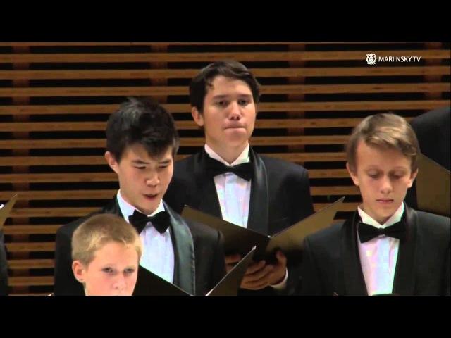 Хоровое училище им М И Глинки Первый концерт абонемента Детские хоры России