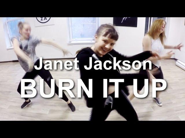 DOZA DS : 'burn it up' by janet jackson ft. missy elliott | Dzintra Dubrova choreography