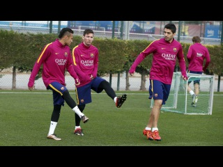 FC Barcelona training session: Recovery session before refocusing on La Liga