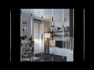 Современный дизайн однокомнатной квартиры 37 кв.м.