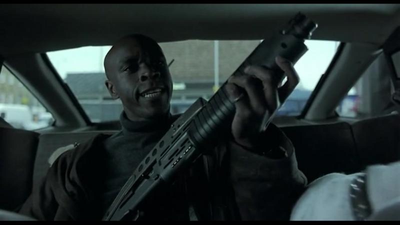 Отрывок из фильма Большой куш Это дробовик Сол Ты там бойню устроишь filmCUT