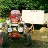 МОТО-трактор з Мотоблока Заря 101