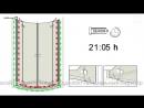 Установка душевой кабины Radaway Almatea PDD. Инструкция по сборке душевой кабины от экспертов.