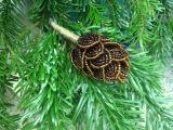 МК ЕЛОЧНАЯ ШИШКА из БИСЕРА. Tutorial Beaded fir cones. ЕЛОЧНЫЕ ИГРУШКИ ИЗ БИСЕРА
