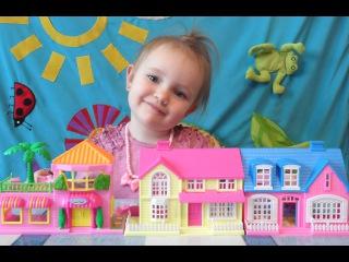 Кукольный Домик для Есении и Улица из Кукольных Домов Dollhouse for Esenia and Dollhouse Street