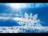 Новогодний мультик. Детская песенка про снежинки. ПРОФЕССОР_КАРАПУЗ