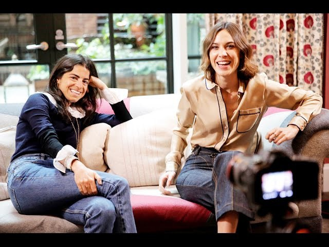 Alexa Chung Leandra Medine: The Chatroom