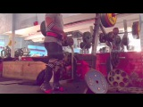 771 Lb x 3 (350 Kg) Squat w/ Knee Wraps   Audio Commentary