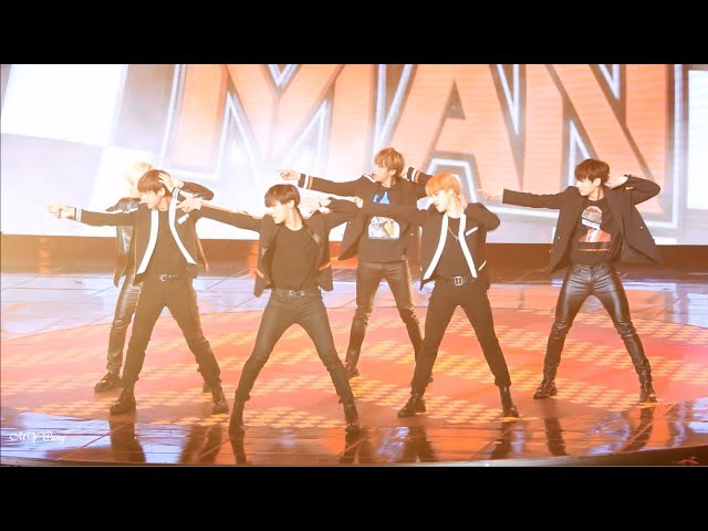 151231 가요대제전 - 방탄소년단 BTS - Perfect Man