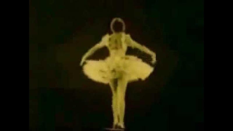 Редкое видео Анна Павлова Умирающий лебедь 1925 год
