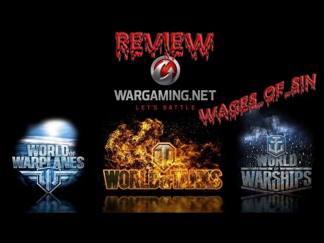 Стрим - Смотр ММО Wargaming.net [WoT\WoWS\WoWP]