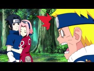 Uchiha Sasuke's Problem AMV - Funny and Badass Moments with Naruto & Sakura