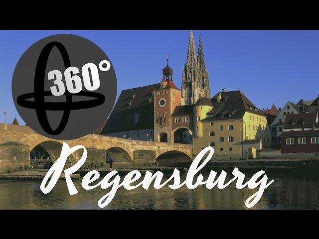 360 VR Video - Regensburg Tour (Ricoh THETA m15))