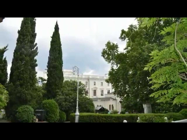 Дворцы Крыма. The Palaces Of Crimea. Livadija. Massandra. Alupka. Koreiz.
