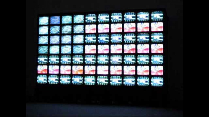 Nam June Paik - Video Flag