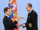 Церемония награждения экипажа «Ту-154»