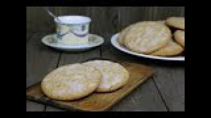 Овсяное печенье с корицей и лимонной глазурью