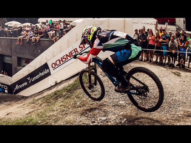 Danny Hart PINS IT to Victory: Winning Run | UCI MTB World Cup 2016
