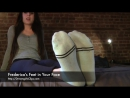 Frederica's Feet in Your Face - (Dreamgirls in Socks)