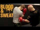 Передние апперкоты по корпусу. Техника бокса. Игорь Смольянов. Boxing. Front hand's uppercut.