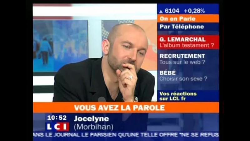 2007.06.18 Olivier Ottin sur LCI.